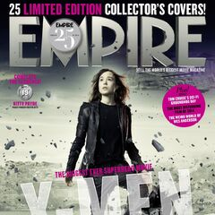 Kitty on the cover of <i>Empire</i>.