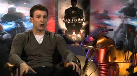 Captain America Il Primo vendicatore Intervista a Chris Evans USA