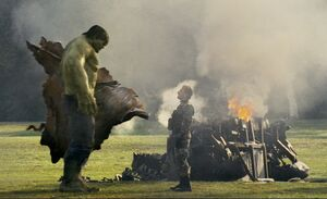 Hulk and Blonsky Faceoff