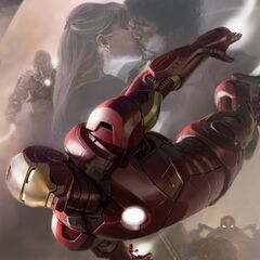 Iron Man promo art.