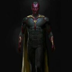 Concept art of The Vision