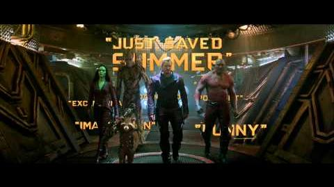 "Marvel's Guardians of the Galaxy ""Just saved Summer"""