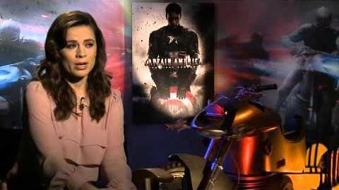 Captain America - Il primo vendicatore Intervista a Hayley Atwell