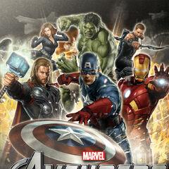 Promo poster for <i>The Avengers</i>.