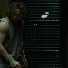 Quicksilver in his cell.