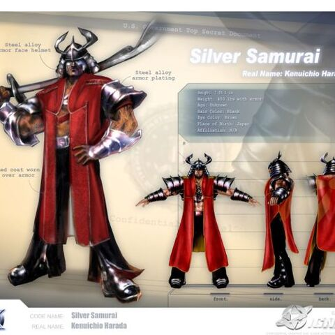 The Silver Samurai.