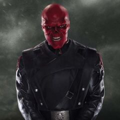 Promotional image featuring the Red Skull.