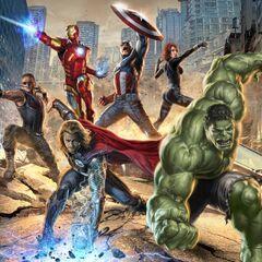 The Avengers Promo art.