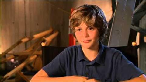 Iron Man 3 Set Interview Ty Simpkins