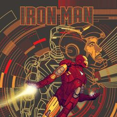 Mondo's Avengers solo Iron Man poster.