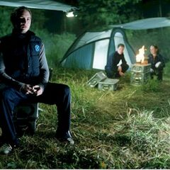 Bobby and Rogue try to start a fire without John. Scene not included in final cut of <i>X2</i>.
