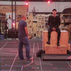 BTS Look at Ryan Reynolds doing Motion Capture for the Test Footage