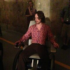 Professor X's new look.