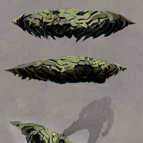 Unused concept art for the Goblin Glider.