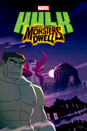 Hulk Where Monsters Dwell Cover