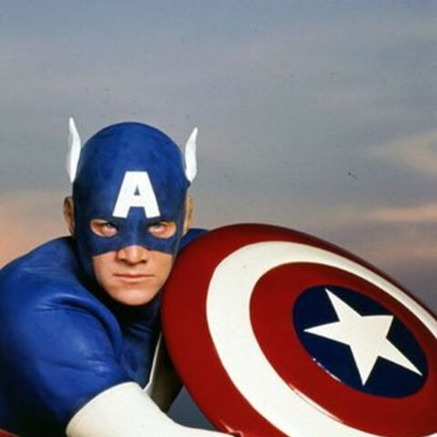 The Captain America uniform from the 1990's film.