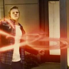Havok using his powers.