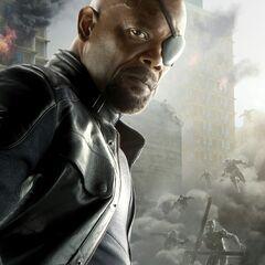 Nick Fury Character Poster