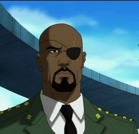 Ultimate Avengers 2- Nick fury