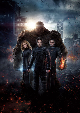 File:Fantastic Four hi res textless poster.jpg