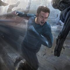 Concept art of Quicksilver
