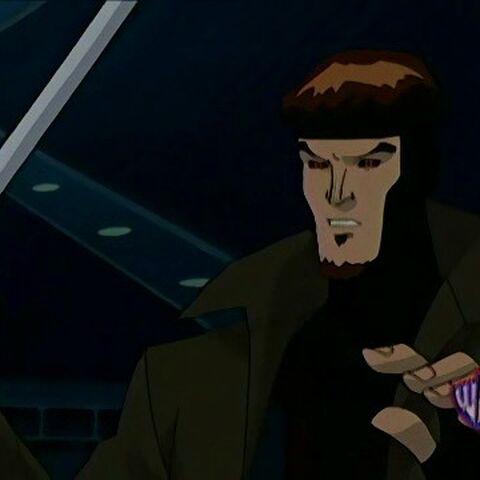 Gambit when Rogue attacks.