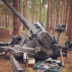 Set photo of a Big Gun in Guildford, UK