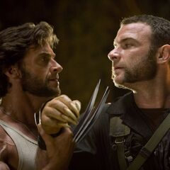 Wolverine and Victor Creed in Nigeria