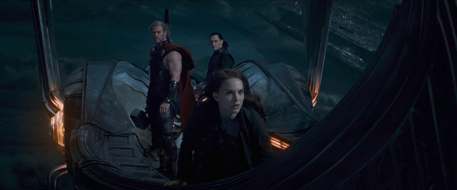 File:Thor The Dark World Thor, Jane and Loki.png