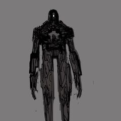 Concept art for Sentinel Mark X in <i>Days of Future Past</i>.