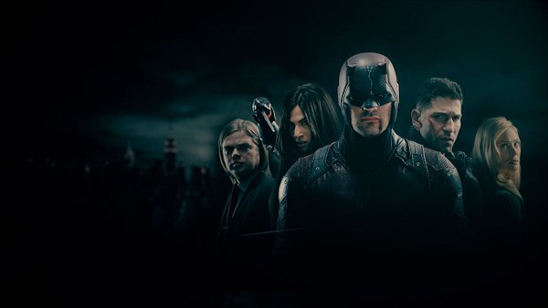 File:Foggy, Elektra, Daredevil, Punisher and Karen.jpg