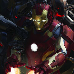 Comic-Con poster of Iron Man