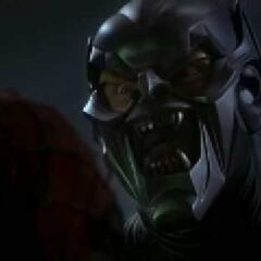 The Goblin Mask with retracted lenses.