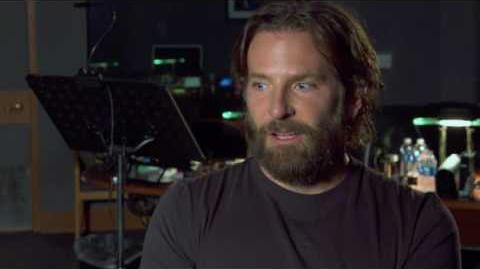 """Guardians of the Galaxy Vol. 2 Bradley Cooper """"Rocket"""" Behind the Scenes Movie Interview"""
