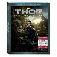 Loki cover art Target exclusive (Three-Disc Combo: Blu-ray 3D / Blu-ray / DVD / Digital Copy)