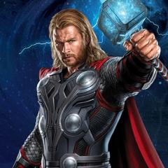 Thor Avengers promo art.
