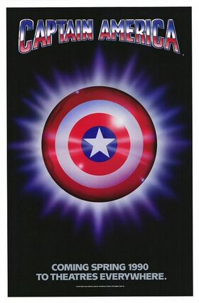 Captain America (1990) poster