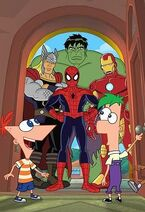 Phineas and Ferb - Mission Marvel (Marvel Movies Wikia)