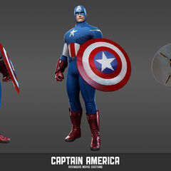 Marvel Heroes Captain America (Avengers uniform)