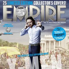 Past Professor X on the cover of <i>Empire</i>.