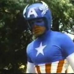 The Captain America uniform from the 1970's film sequel.