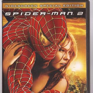 Spider-Man 2 Dvd cover.