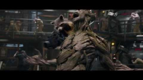 Meet the Guardians of the Galaxy Groot