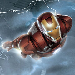 Iron Man Avengers prequel comic #4 cover.