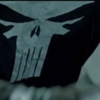 The Punisher's shirt