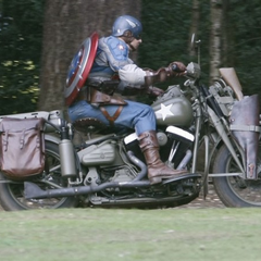 Captain America's motorcycle.