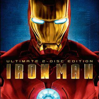 Iron Man dvd & Blu-Ray: Two-Disc