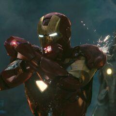 Iron Man activites lasers