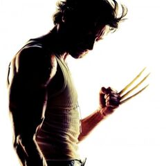 Wolverine with bone claws