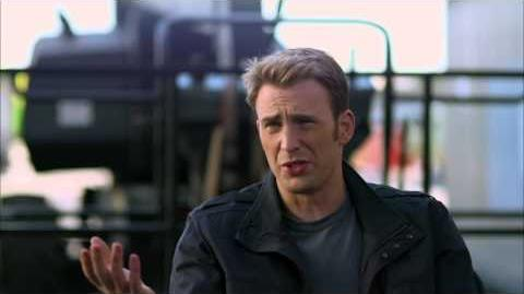 "Captain America The Winter Soldier Chris Evans ""Steve Rogers"" Official On Set Interview"